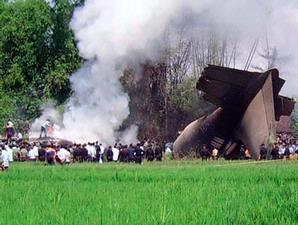 pesawat hercules yang jatuh di Magetan