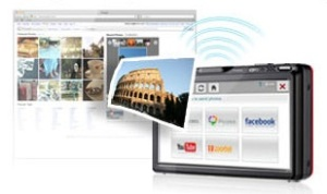 Fitur Wi-fi pada Samsung ST1000